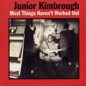 JUNIOR KIMBROUGH - Most Things Haven't Worked Out (LP, ed. limitada, 180 g, inclui download, novo)